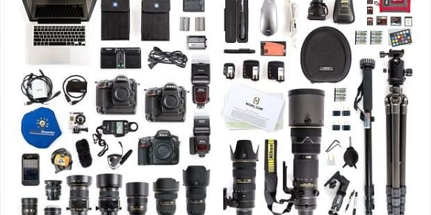 تجهیزات عکاسی عروسی