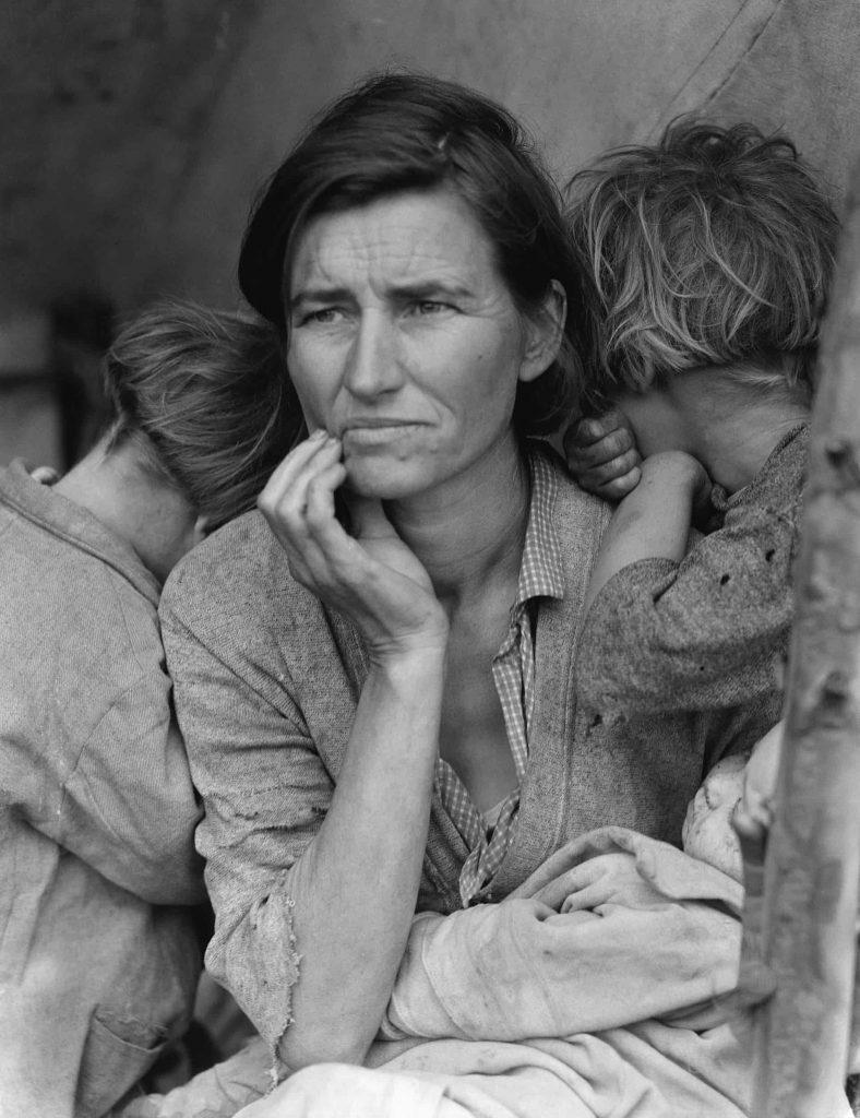 مادر مهاجر دورثیا لنگ
