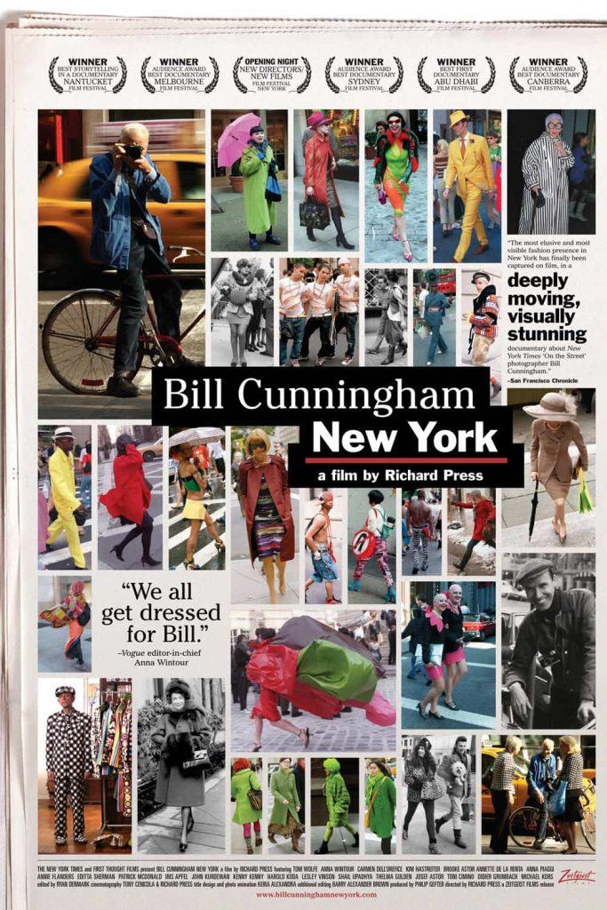 پوستر مستند بیل کانینگهم نیویورک